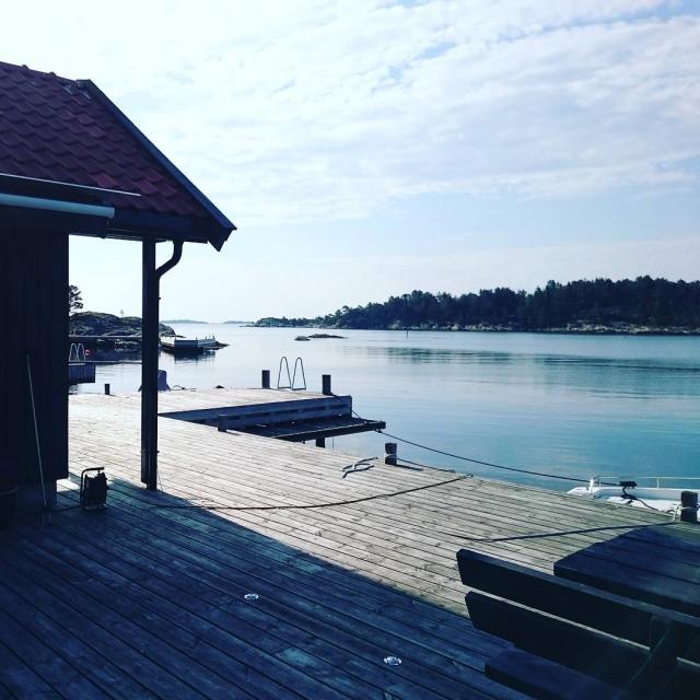 Dagens utsikt på jobb! #andøya #sjø #sologsommer #triståjobbeinnepåensånndag