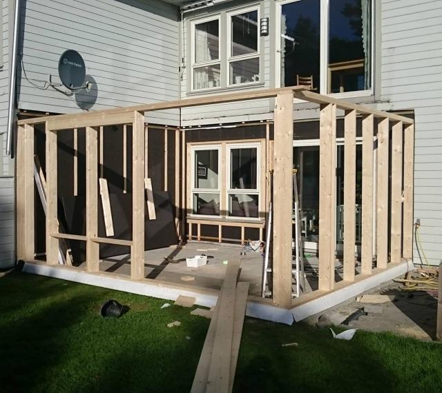 Vi bygger ut! #Høvåg #utbygging #endelig #gledeross #snartdåp #myeågjøre